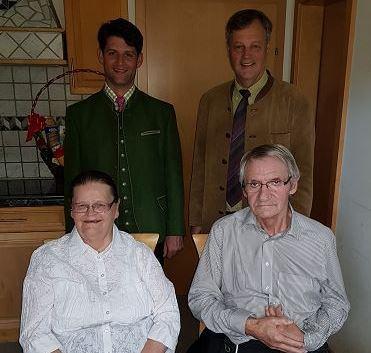 Goldene Hochzeit Von Maria Und Walter Ehrenreich Zederhaus