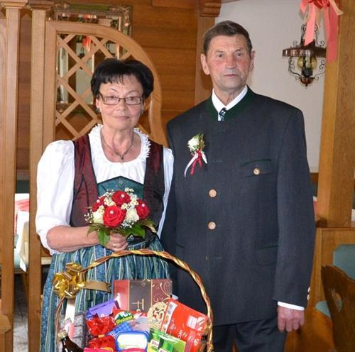 Goldene Hochzeit Von Hildegard Und Matthias Dorfer